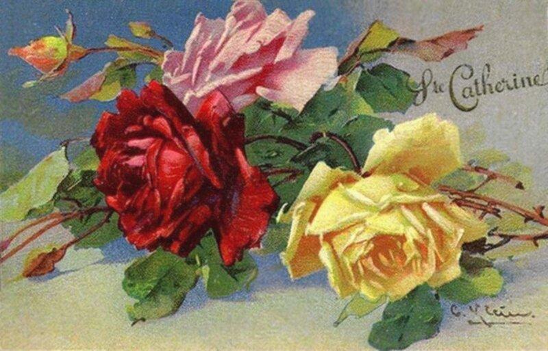 К. Кляйн. Розы - Катерине.