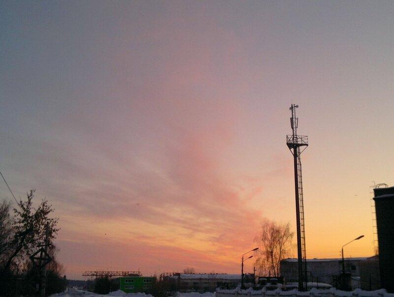 Закат 03.03.2011 17:48