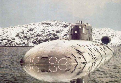 Подводные лодки проекта 945 барракуда