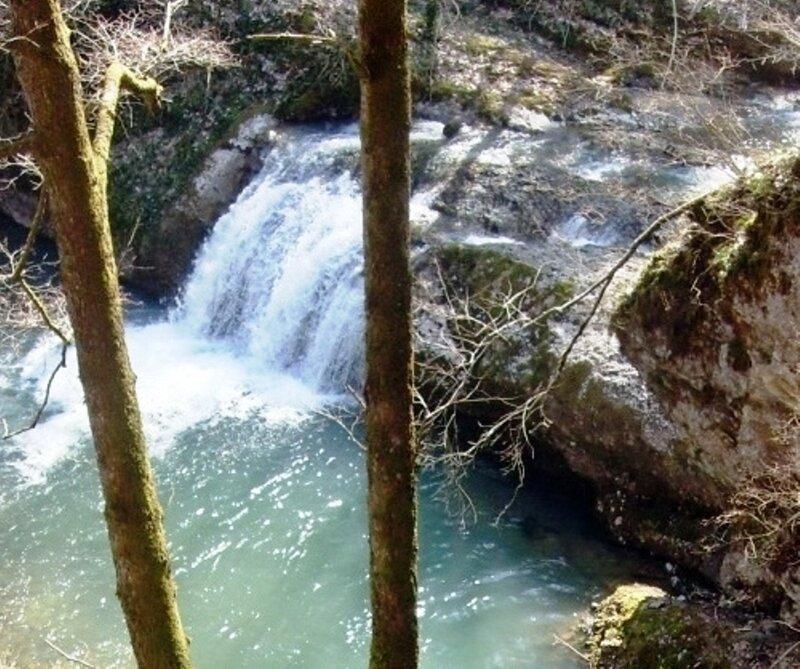 Водопад на Каверзе. Горячий Ключ. 23 - 27. 03. 10