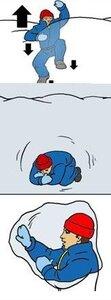 Как спасаться из снежного завала