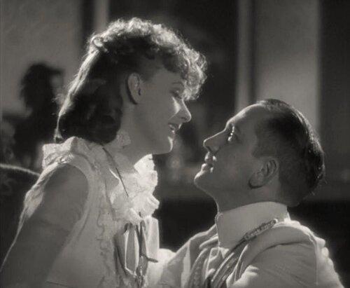 """Грета Гарбо и Фредрик Марч. """"Анна Каренина"""" 1935 г."""
