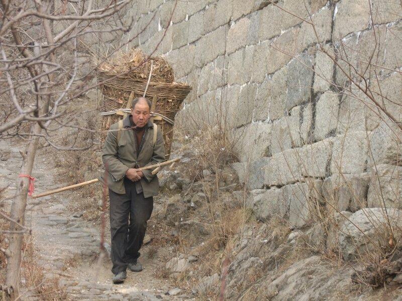 Не туристическая китайская стена Сотрудник Стены