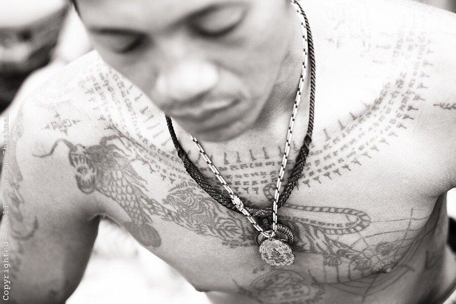 Фестиваль Магических татуировок. Таиланд, 2011