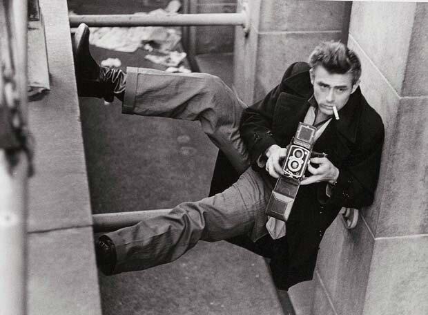 James Dean Alley by Roy Schatt 1954