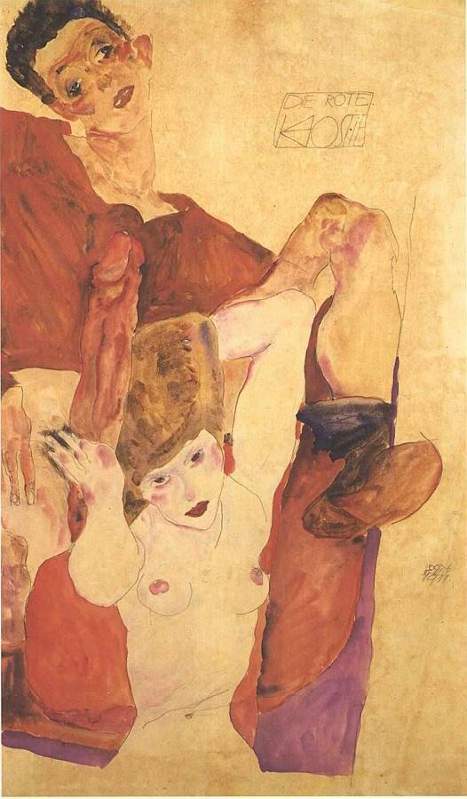 Красный хозяин, 1911, Шиле Эгон (1890-1918)