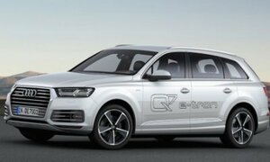 Audi показала гибридный внедорожник Q7 E-Tron Quattro