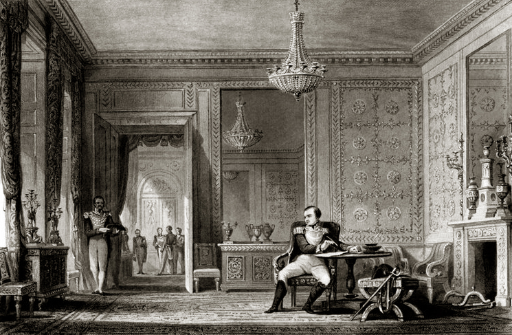 The Salon of Abdication, Fontainebleau by JB Allen.jpg