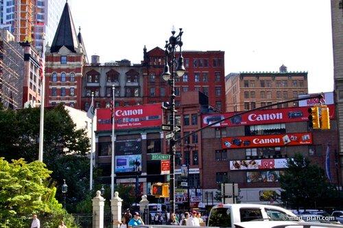 кэнон, реклама, нью-йорк