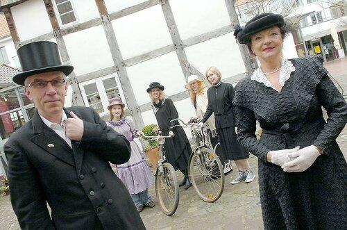 Историческая выставка велосипедов Miele