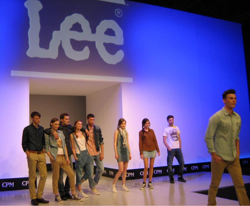 Lee. Показ модной одежды на CPM 2012