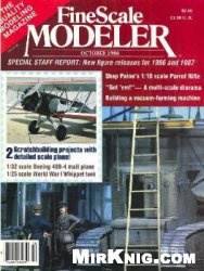 Книга FineScale Modeler 1986-10