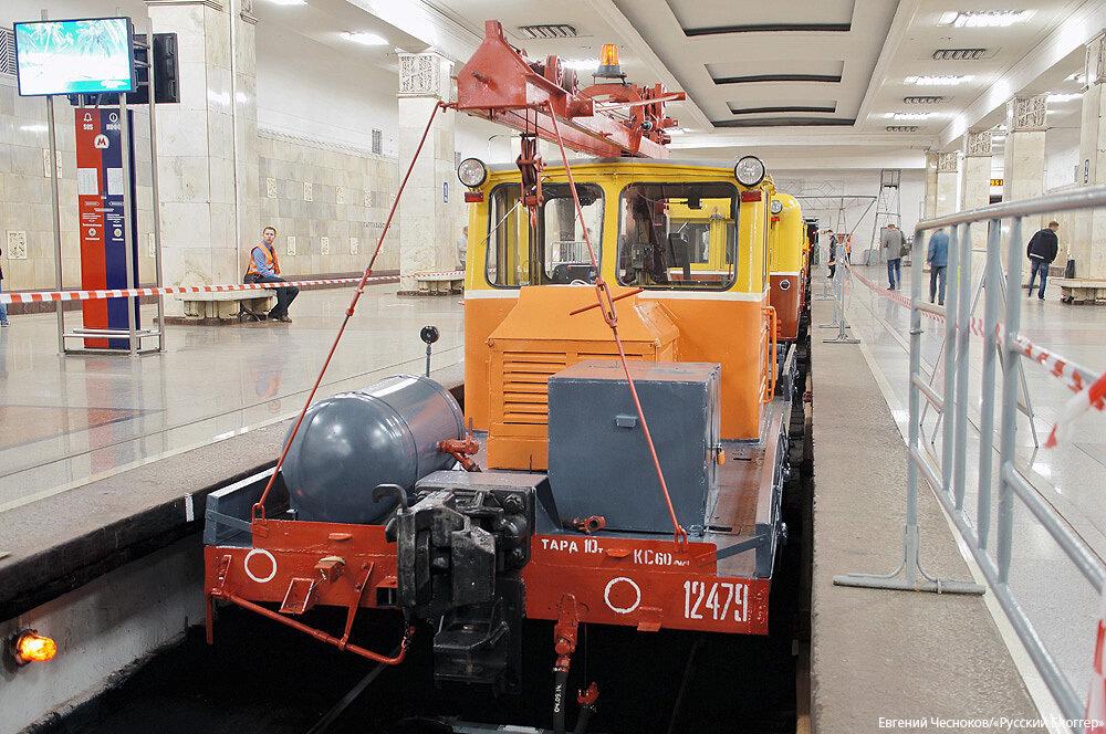 Метро. Выставка. Мотовоз АГМ 1971г. 18.05.15.01..jpg