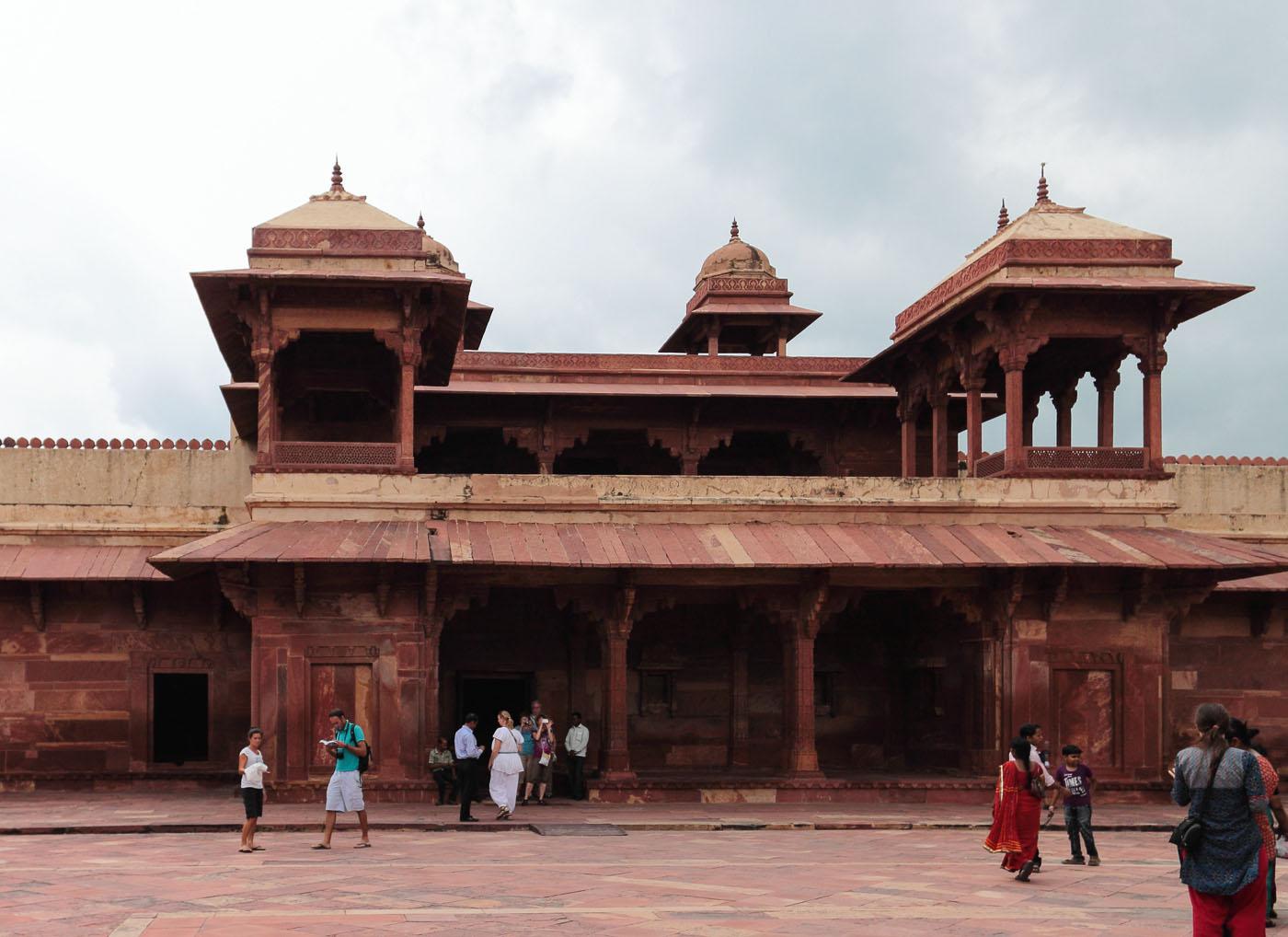 Фото 10. Поездка в Индию. Здесь располагался гарем