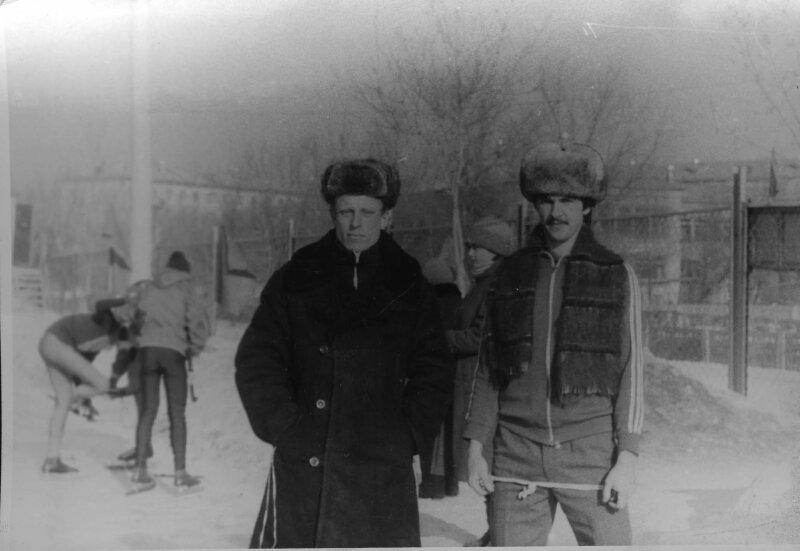 9.01.1988г. Стадион ДЮСШ-3 Емельянов С и Жемчужников Ю.