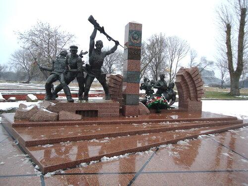 Бресткая крепость. Памятник героям-пограничникам