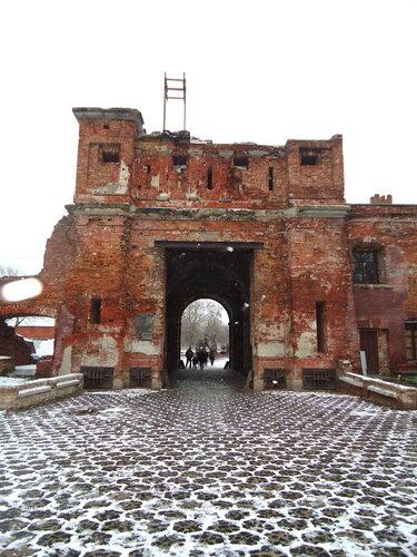 Брестская крепость. Тереспольские ворота