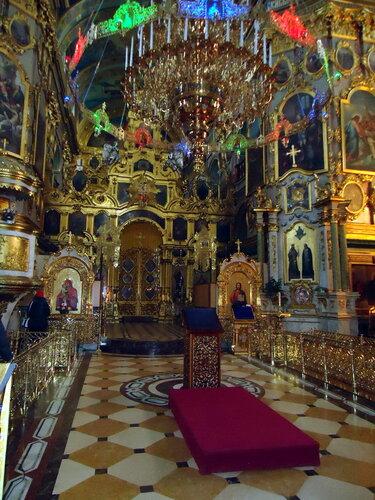 Почаевская лавра. В церкви