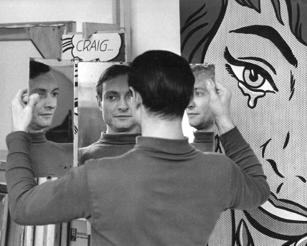 Roy Lichtenstein by Ken Heyman