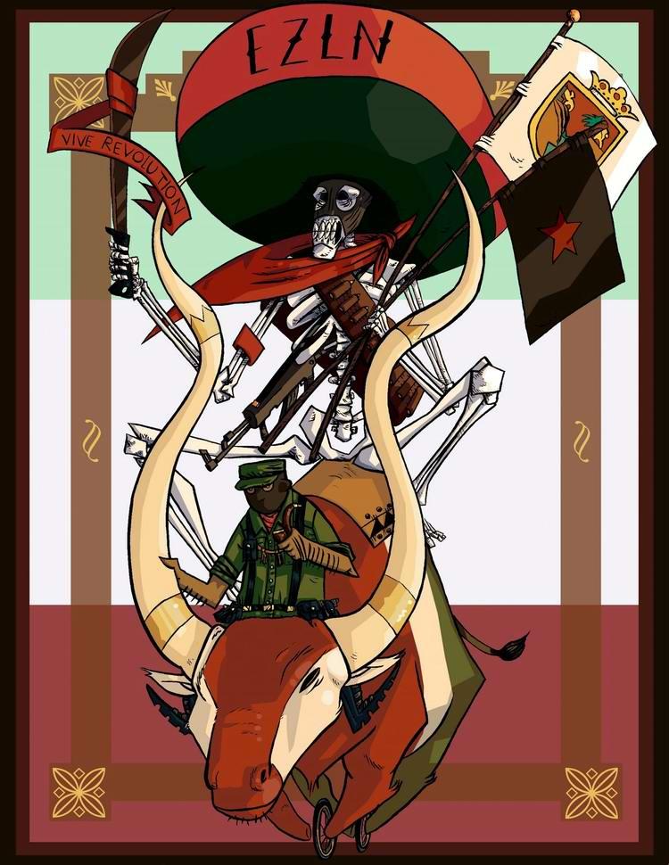 Да здравствует революция!: О том, как это должно выглядеть по мексикански
