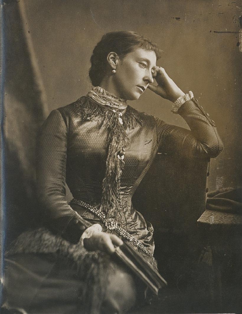 Александр Бассано (1829-1913) Алиса, великая княгиня Гессен (1843-1878)  около 1 870