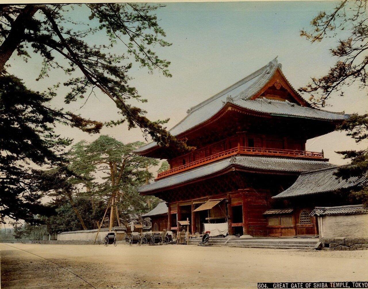 Токио. Богатырские ворота Храма Шиба