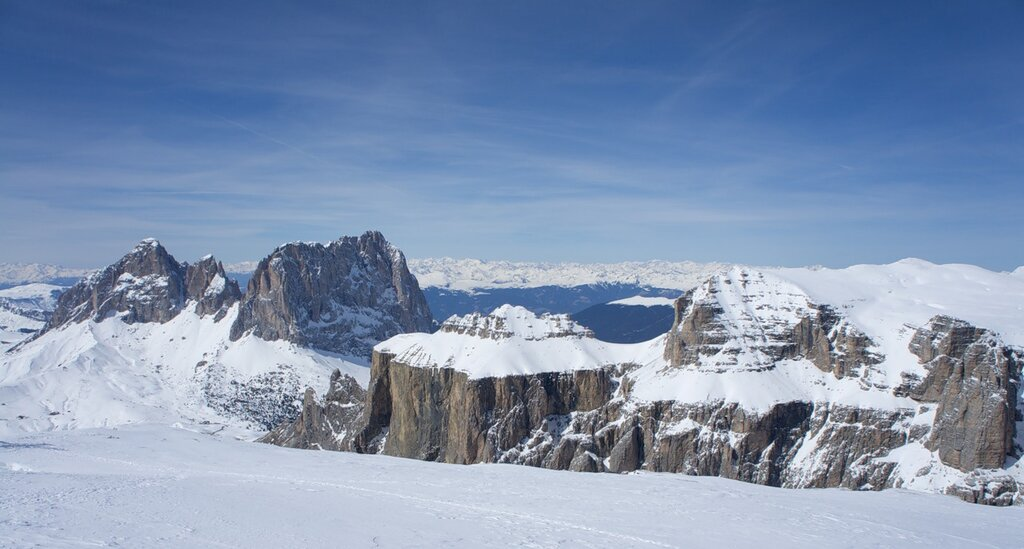 Вид на Gruppo Sella