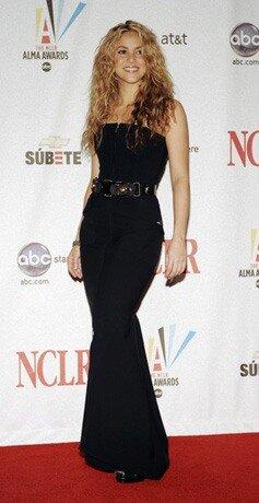 Как поддерживает свой вес певица Шакира?