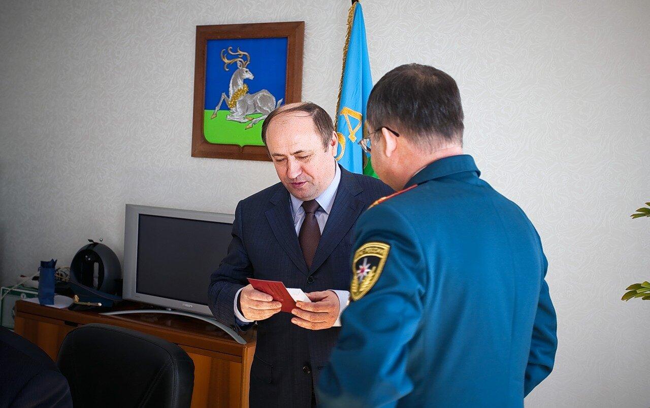 руководитель районной администрации Николай КОНДРАТЮК