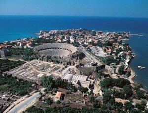 Древние стены Сиде