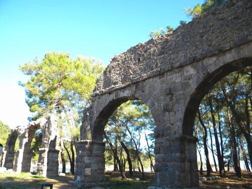 Турция. Фаселис - акведук*