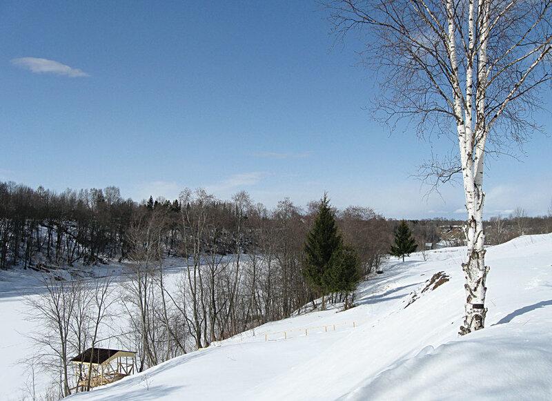 Ловать. Март 2011