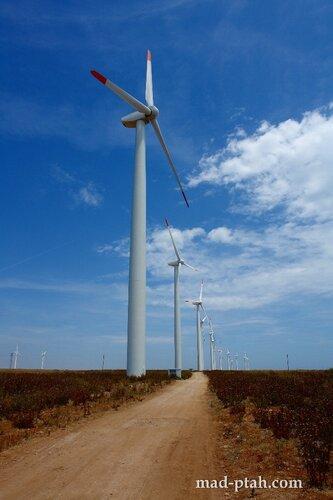 калиакра, болгария, ветрогенераторы