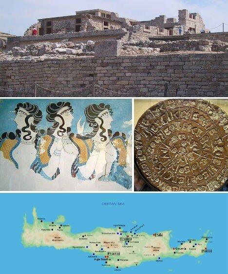 минойская империя, крит