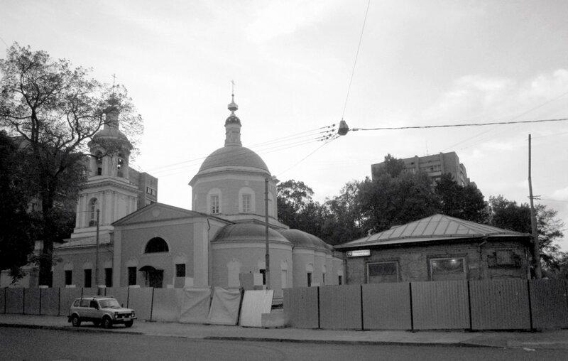Тихвинская церковь. Тихвинский переулок. 2010 г.