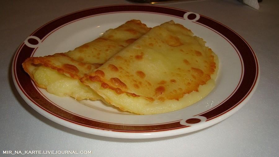 Кыстыбый с картошкой по-татарски рецепт пошагово