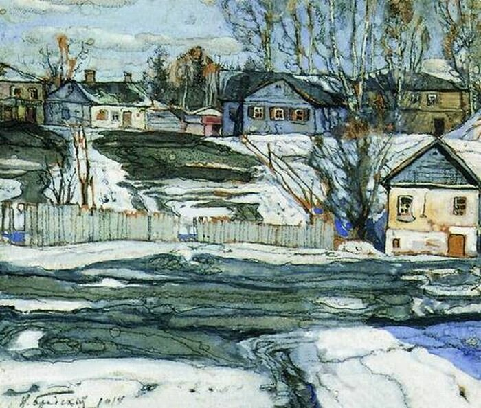 Исаак Израилевич Бродский (1883-1939). Весна. 1914.