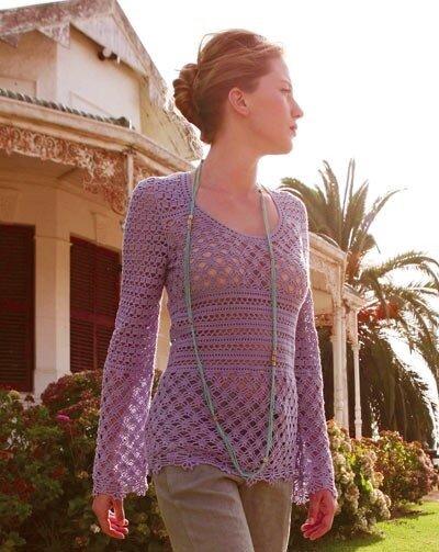вязаные свитера и туники женские. кофты свитера вязание схемы фото туники.