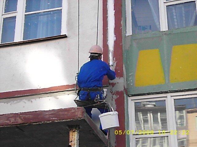 Заделка швов панельные дома