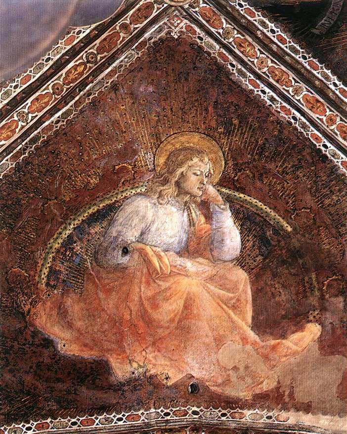 15 LIPPI FRA FILIPPO ST LUKE THE EVANGELIST