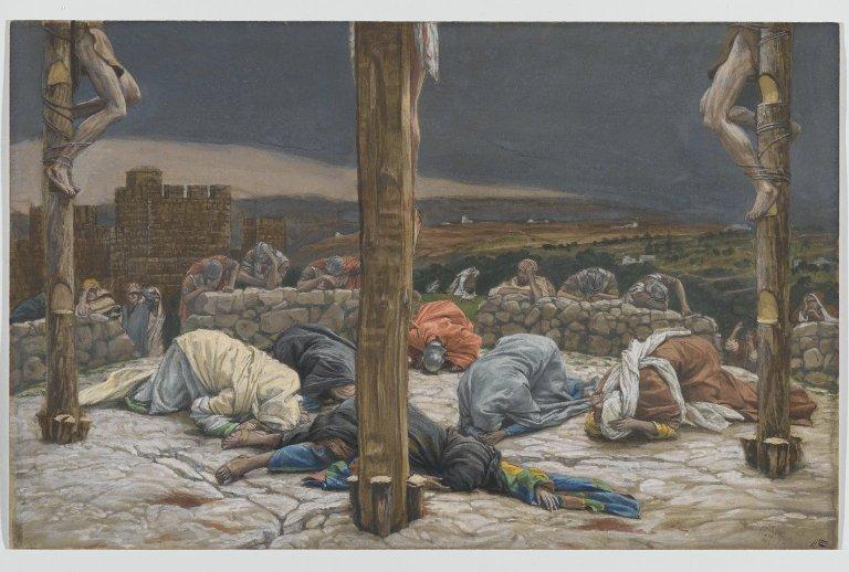 Brooklyn Museum: The Earthquake (Le tremblement de terre )