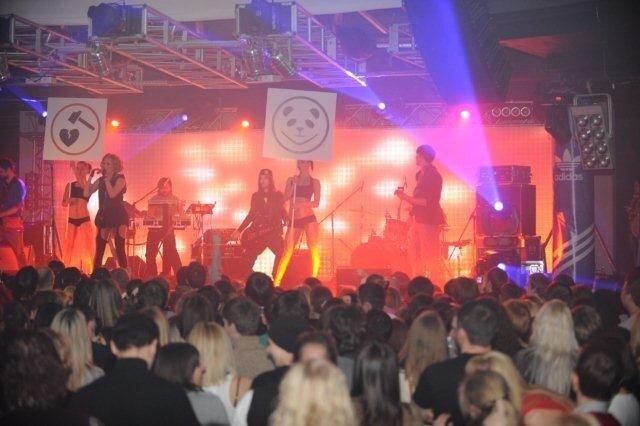 Gorchitza в клубе Crystal Hall и adidas Originals