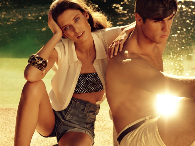 Бьянка Бэлти / Bianca Balti by Hunter and Gatti for Blanco Spring 2011