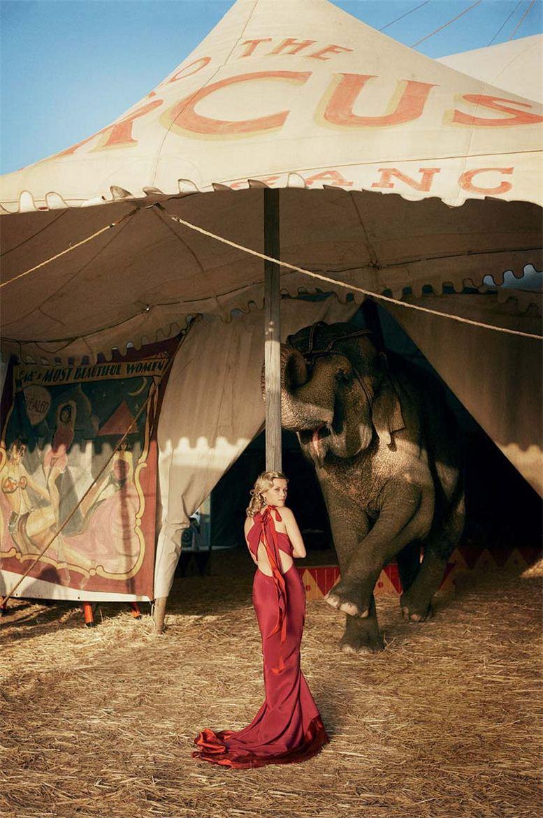 модель Риз Уизерспун / Reese Witherspoon, фотограф Peter Lindbergh