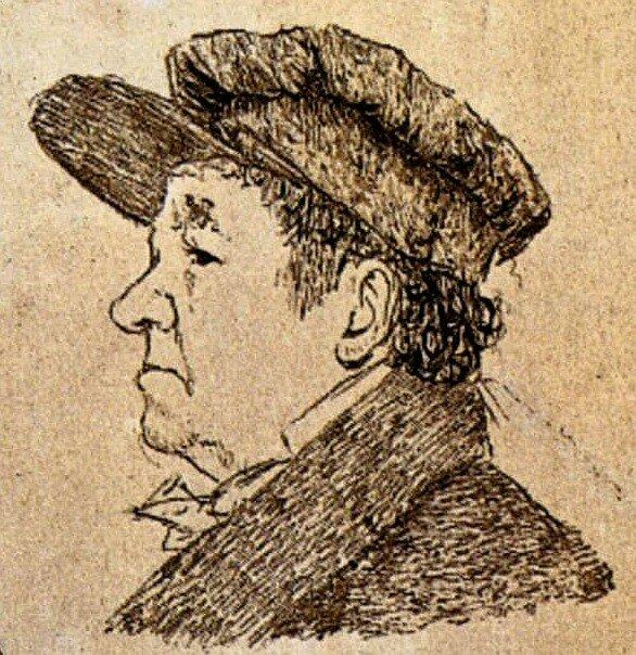 Гойя, автопортрет 1824 г.
