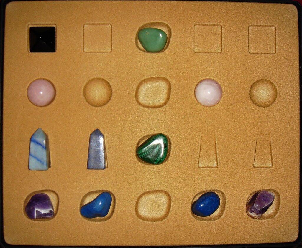 Энергия камней - Кейс, Хранение и Оформление Коллекции