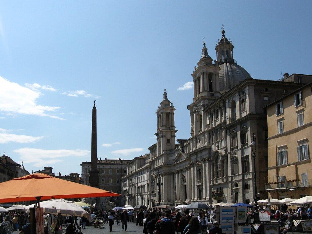 Рим. Площадь Навона (Piazza Navona)