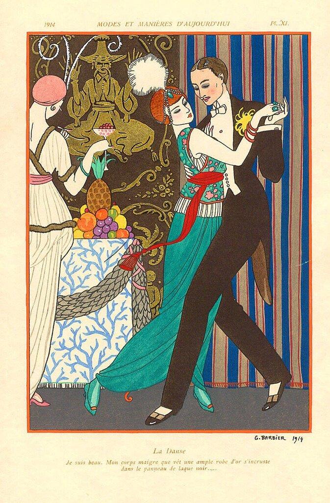 Vintage Art Deco by Georges Barbier