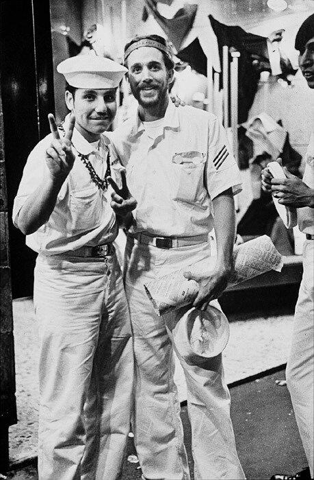Peace! US R & R Sailors,Kings Cross 1970-71
