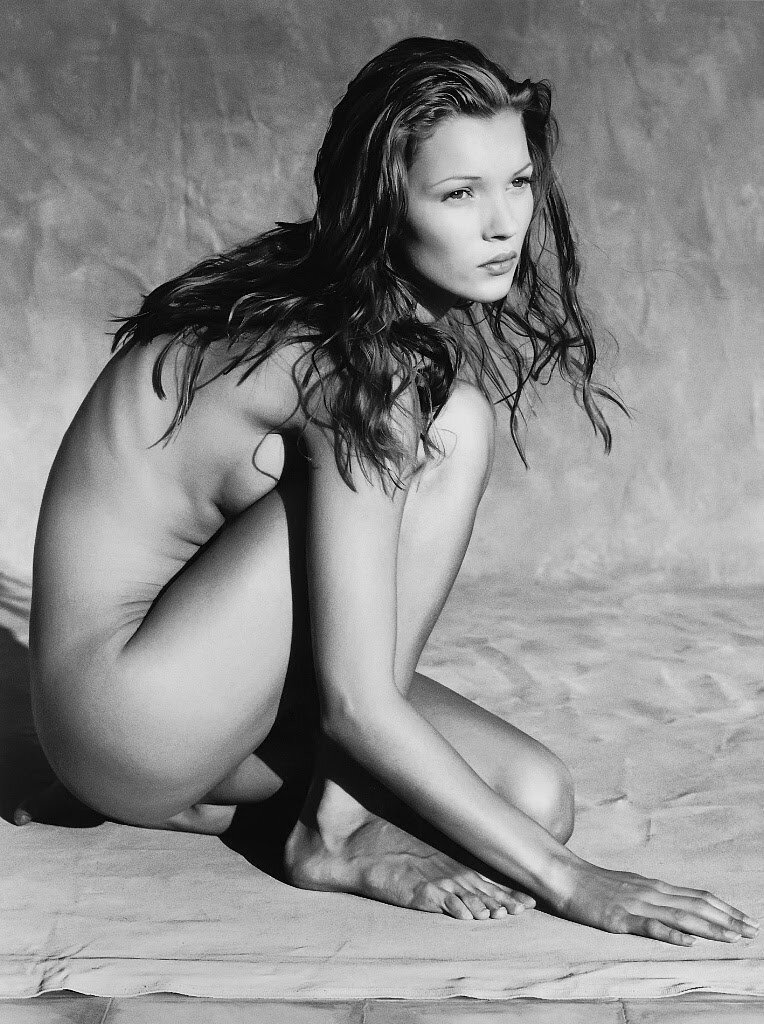 Albert Watson - Kate Moss 1993